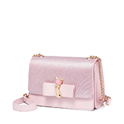 JUST STAR PU 2019 New Season Lovely Cat Shoulder Bag Pink