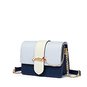 JUST STAR PU 2019 New Korea Style Shoulder Bag Blue