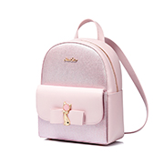 JUST STAR PU 2019 New Season Girls Backpack Pink