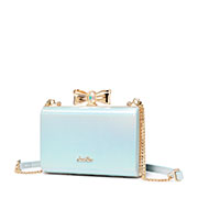 JUST STAR 2019 New Princess Evening Bag Blue