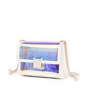JUST STAR PU 2019 New Colorful Jelly Bag White
