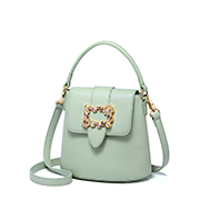 JUST STAR PU 2019 New Hot Selling Bucket Bag Green