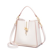 JUST STAR PU 2019 New Gilr Shoulder Bag White