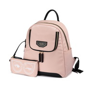 JUST STAR 2019 New Summer Travel Backpack Pink
