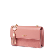 JUST STAR PU 2019 New Casual Girl Shoulder Bag Pink