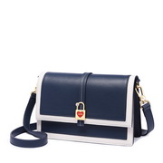 JUST STAR 2019 New Summer Navy Style Shoulder Bag Blue