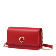JUST STAR 2019 Valentine's day Series Evening Bag Red