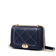 JUST STAR PU 2019 New Classic Shoulder Bag Blue