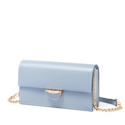 JUST STAR PU 2019 New Stylish Lady Clutch Bag Blue