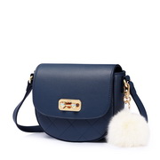 JUST STAR PU 2019 New Girl Saddle Bag Blue