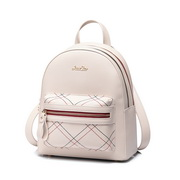 JUST STAR 2019 New Summer British Style Backpack Apricot