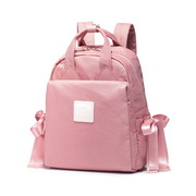 JUST STAR 2019 New Casual Travel Bowknot Backpack Pink