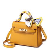 JUST STAR PU 2019 New Fashion Kelly Bag Yellow