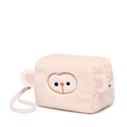 JUST STAR 2019 New Cute Monkey Bag Apricot