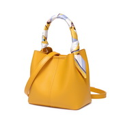 JUST STAR 2019 New Popular Handbag Bucket Bag Yellow