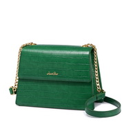 JUST STAR 2019 New Popular Women Kelly Bag Green L