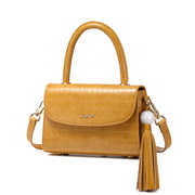 JUST STAR 2019 New Fashion Alligator Shoulder Bag Yellow