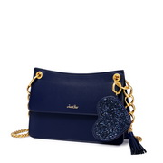 JUST STAR 2019 New Stylish Chain Bag Blue