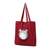 JUST STAR 2019 New Cute Casual Tote Bag Red