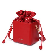 JUST STAR 2019 New Lovely Girl Shoulder Bag Red