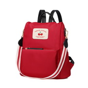 JUST STAR 2019 New Fashion Water-proof Backpack Red