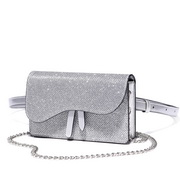 JUST STAR 2019 New Cool Girl Shoulder Bag Silver