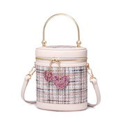 JUST STAR 2019 New Fashion Bucket Bag White