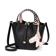 JUST STAR 2019 New Fashion Bucket Bag Black