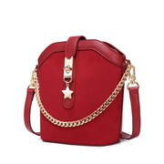 JUST STAR 2019 New Fashion Bucket Bag Red