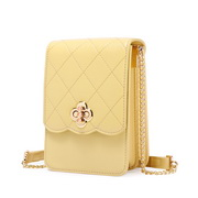 JUST STAR 2020 New Girl Phone Bag Yellow