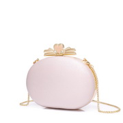JUST STAR 2020 New Fashion Girl Evening Bag Pink
