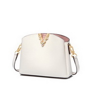JUST STAR 2020 New Fashion Girl Shell Bag White