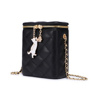JUST STAR 2020 New Summer Girl Box Bag Black