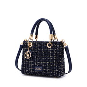 JUST STAR 2020 Autumn New Design Sweet Girl Shoulder Bag Blue