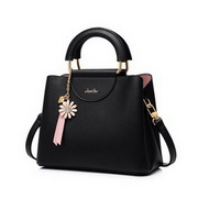 JUST STAR 2020 New Daisy Design Casual Women Shoulder Bag Black