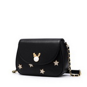 JUST STAR 2020 New Fashion Simple Design Urban Girl Shoulder Bag Black