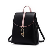 JUST STAR 2020 New Fashion Travel Women Backpack Casual Bag Black