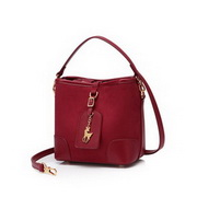JUST STAR 2020 New Fashion Velvet Comfortable Women Hand Bag Shoulder Bag Vintage Red
