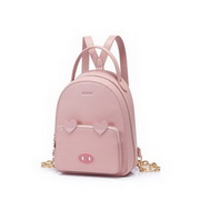 JUST STAR 2020 New Fashion Sweet Cute Pig Girl Backpack Pink