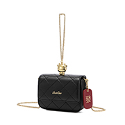 JUST STAR 2021 New Fashion Lucky Casual Women Shoulder Bag Black
