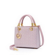 JUST STAR 2021 New Design Summer Clear Casual Women Shoulder Bag Pink