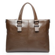 knight cowhide handbags Brown