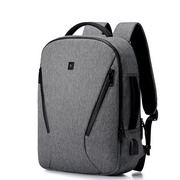 SAMMONS High Density Material 2017 Hot Mutifuntion USB Backpack Silver Gray
