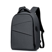 SAMMONS Nylon Material 2017 Hot Mutifuntion USB Backpack Dark Gray