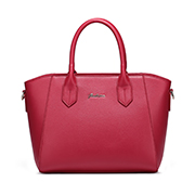 ZHUOLUXUE Cowhide Leather 2016 New Stylish Handbag Red