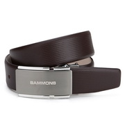 Top grade men Genuines leather belt Coffee