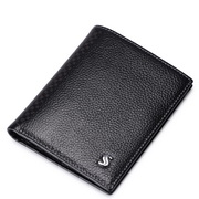 2015 New Sammons genuine leather wallet black