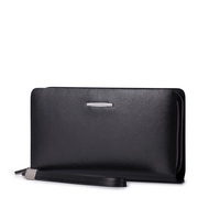 Louis SAMMONS Genuine leather zipper wallet black