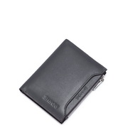 Manchester series head layer men multi-functional wallet Grey
