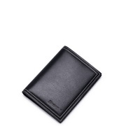 Vienna series head layer wallet card bag multi-function bag  Black